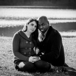 Old Stone Church Engagement Photo