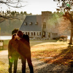 Old Stone Church Engagement Photographer
