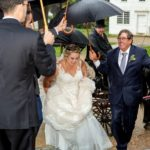 OSV rainy wedding photo
