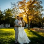 Sunset wedding photographer MA
