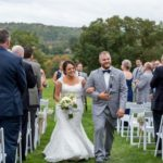 Bride and groom Recessional photo