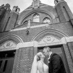 Church wedding photo