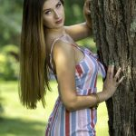 Outdoor Model Lauryn